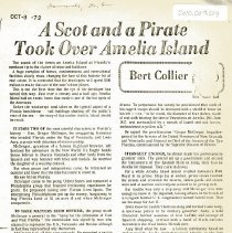 Image of A Scot and a Pirate took over Amelia Island