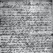 Image of Letter from Robert Thompson to Stephen Girard - Letter