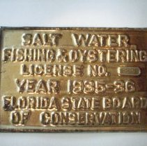 Image of Salt Water fishing & oystering license - License