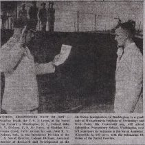 Image of Dickson enlisting 1961