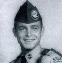 Image of Yost at Ranger School 1964