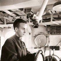 Image of Taylor on USS Kearsarge 1946