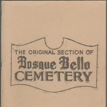 Image of Old Bosque Bello Cemetery, Fernandina Beach, Florida: