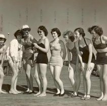Image of Bathing Beauties on old fishin