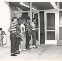 Image of Boys at Atlantic Avenue Recreation Center - Print, Photographic