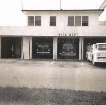 Image of Fire Station - Print, Photographic