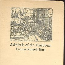 Image of Admirals of the Caribbean - Book