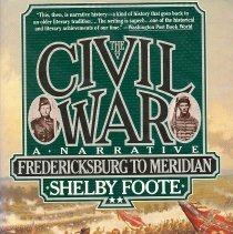 Image of The Civil War: A Narrative: Fredericksburg to Meridian - Book