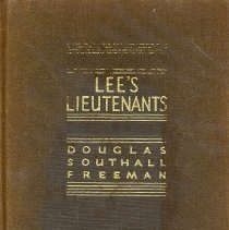 Image of Lee's Lieutenants: A Study In Command, Vol. III - Book