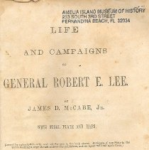 Image of Life and Campaigns of Robert E. Lee - Book