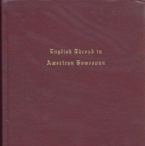 Image of English thread in American homespun:  the history of a Brewster family - Book