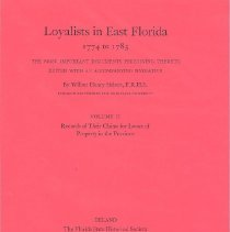 Image of Loyalists in East Florida 1774 to 1785