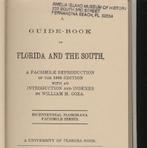Image of A Guidebook of Florida and the South - Book