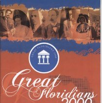 Image of Great Floridians 2000 - Pamphlet