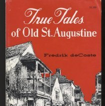 Image of True Tales of Old St. Augustine - Pamphlet