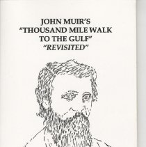 Image of John Muir's Thousand mile walk to the Gulf revisited - Book