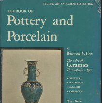 Image of Book of Pottery and Porcelain