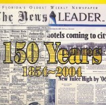 Image of 150 Years: 1854-2004 - Newspaper