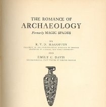 Image of The Romance of Archaeology - Book