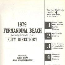 Image of 1979 Fernandina Beach (Nassau County, Fla.) City Directory - Book