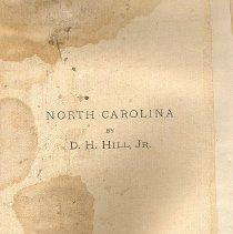 Image of North Carolina - Book