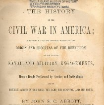 Image of The History of the Civil War in America Volume 2 - Book