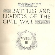 Image of Battles and Leaders of the Civil War, Volume III - Book