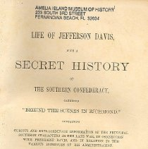 Image of Life of Jefferson Davis - Book
