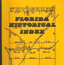 Image of Florida Historical Index - Book