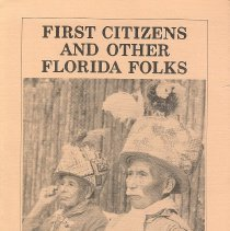 Image of First Citizens and Other Florida Folks: Essays on Florida Folklife - Book