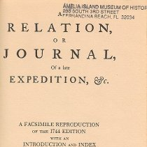 Image of Relation, or Journal, of a late Expedition