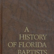 Image of A History of Florida Baptists - Book