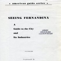 Image of Seeing Fernandina: a guide to the city and its industries - Book