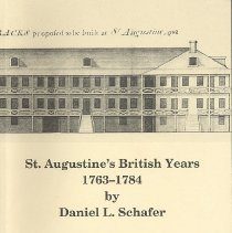 Image of St Augustine's British Years, 1763-1784 - Book