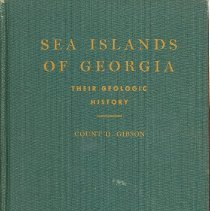 Image of Sea Islands of Georgia: their geologic history - Book