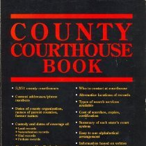 Image of County Courthouse Book - Book