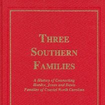 Image of Three Southern Families - Book