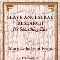 Image of Slave ancestral research: it's something else - Book