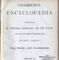 Image of Chambers' Encyclopedia, a dictionary of universal knownledge for the people; with maps and numerous wood engravings. Volume 2 - Book