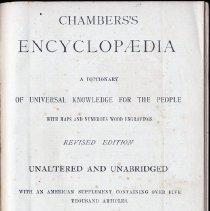 Image of Chambers's Encyclopedia. Volume 8.