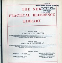 Image of The New Practical Reference Library. Volume 1. - Book