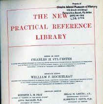 Image of The New Practical Reference Library. Volume 3. - Book