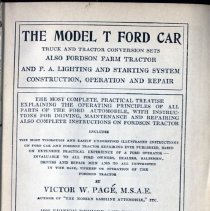 Image of The Model T Ford Car, Truck, and Tractor Conversion sets. - Book