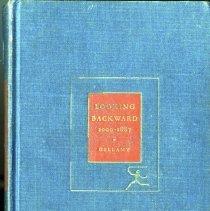 Image of Looking Backward 2000-1887 - Book