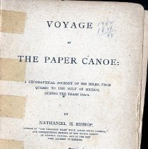 Image of Voyage of The Paper Canoe - Book