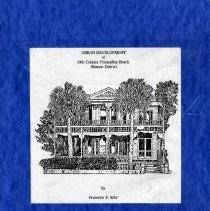 Image of Urban development of 19th century Fernandina Beach Historic District - Pamphlet