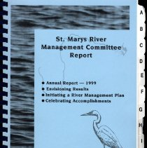 Image of St. Marys River Management Committee Report April 2000 - Book