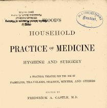 Image of Wood's household practice of medicine