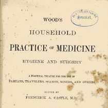 Image of Wood's Household Practice of Medicine: Hygiene and Surgery - Book