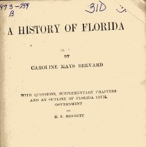 Image of A History of Florida - Book